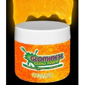 6 Units of Glominex Glitter Glow Paint Pint - Orange - LED Party Supplies