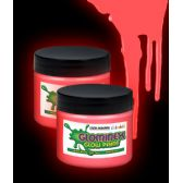 48 Units of Glominex Glow Paint 2 oz Jar - Red - LED Party Supplies