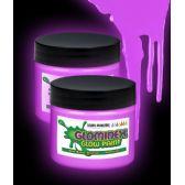 24 Units of Glominex Glow Paint 4 oz Jar Purple - LED Party Supplies