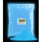4 Units of Glominex Ultraviolet Reactive Pigment 1 kg - Blue - LED Party Supplies