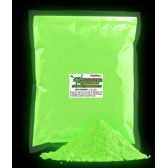 4 Units of Glominex Ultraviolet Reactive Pigment 1 kg - Green - LED Party Supplies