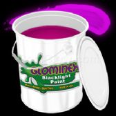 Glominex Blacklight UV Reactive Paint Gallon - Pink - LED Party Supplies