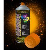 12 Units of Glominex Glow Spray Paint 4oz - Orange - LED Party Supplies