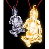 36 Units of Glow Stick Halloween Skeleton - Orange - LED Party Items