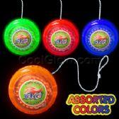 12 Units of LED Yo-Yos - Assorted