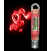 72 Units of Glominex Glitter Glow Paint 1 oz Tube - Red
