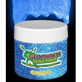6 Units of Glominex Glitter Glow Paint Pint - Blue