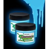 48 Units of Glominex Glow Paint 2 oz Jar - Blue