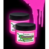 48 Units of Glominex Glow Paint 2 oz Jar - Pink