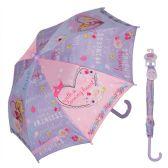 12 Units of Princess Umbrella with easy grip handle and velcro strap closure - Umbrella