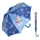 12 Units of Disney Frozen umbrella with easy grip handle and velcro strap closure - Umbrella