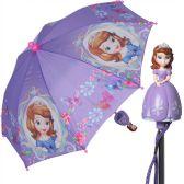 12 Units of Wholesale Sofia the First Girls Umbrella - Umbrellas & Rain Gear