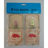 72 Units of 2pc X-Large Mouse Traps - Pest Control
