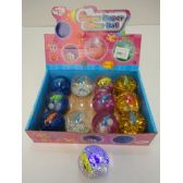 """36 Units of 3"""" Large Light Up Bouncing Water Ball - Light Up Toys"""
