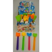 32 Units of Bubble Wand with Sand Toys - Beach Toys