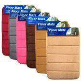 48 Units of Floor Mats 15x23 Solid Colors
