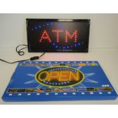 3 Units of Light Up Sign-ATM