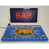 6 Units of Light Up Sign-BAR