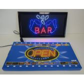 3 Units of Light Up Sign-BAR w Beer Mug