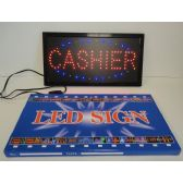 3 Units of Light Up Sign-CASHIER