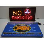 6 Units of Light Up Sign-NO SMOKING