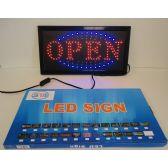 6 Units of Light Up Sign-OPEN [Horizontal]