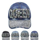 24 Units of CAP 156 QUEEN - Hats With Sayings