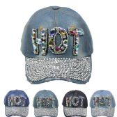 """24 Units of """" HOT"""" Cap - Hats With Sayings"""