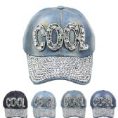 """24 Units of """"COOL"""" Cap - Hats With Sayings"""