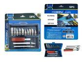 72 Units of 13 Piece Hobby Knife Set - Tool Sets