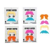 96 Units of Mr. Mustache Sticky Notes - Dry Erase