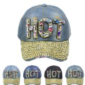 """24 Units of """"HOT"""" Cap - Hats With Sayings"""