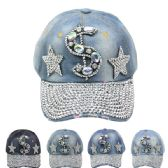 24 Units of DOLLAR SIGN CAP - Hats With Sayings