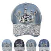 24 Units of CROWN CAP - Hats With Sayings