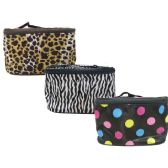 144 Units of Cosmetic Bag Asst. Prints - Cosmetic Cases