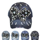 24 Units of BUTTERFLY CAP - Hats With Sayings