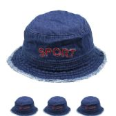 """72 Units of KIDS """"SPORT"""" SUMMER HAT - Hats With Sayings"""