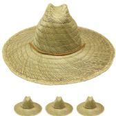 24 Units of MEN'S SUMMER STRAW HAT - Sun Hats