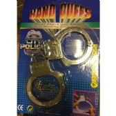 144 Units of Metal Toy Handcuffs - Boy Play Sets