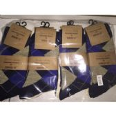 72 Units of Men's Single Pair Dress Socks (Assorted styles and colors - size 10-13) - Mens Dress Sock