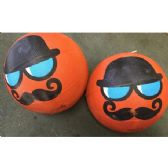 25 Units of Mustache Novelty Basketballs - Balls
