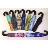 60 Units of Manual Open Umbrellas (Assorted printed and solid black)
