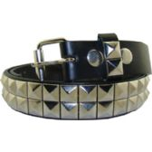 36 Units of Kids Studded Belts In Silver - Kid Belts