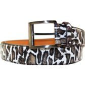 72 Units of Men Animal Pattern Belt - Mens Belts