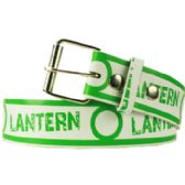 144 Units of Green Lantern Printed Belt - Unisex Fashion Belts