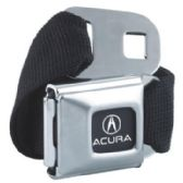 6 Units of Acura Seat Belt - Auto Accessories