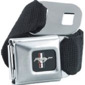 6 Units of Mustang Seat Belt - Auto Accessories