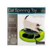 12 Units of Cat Scratch Pad Spinning Toy with Mouse - Pet Toys
