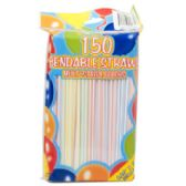 72 Units of 150 Count Bendable Straws - Straws and Stirrers