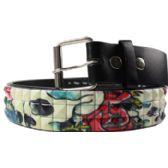 36 Units of Adult Unisex Studded Belt - Uni Sex Fashion Belts